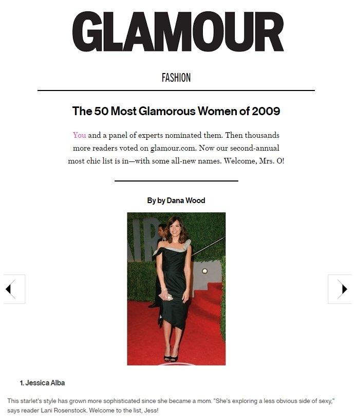glamorous women