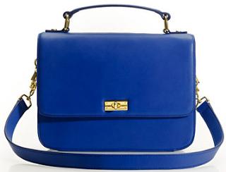 J Crew shoulder bag blue