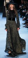 glam rock gown slimane