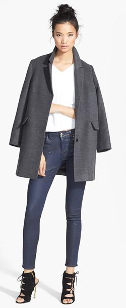 boyfriend coat top shop
