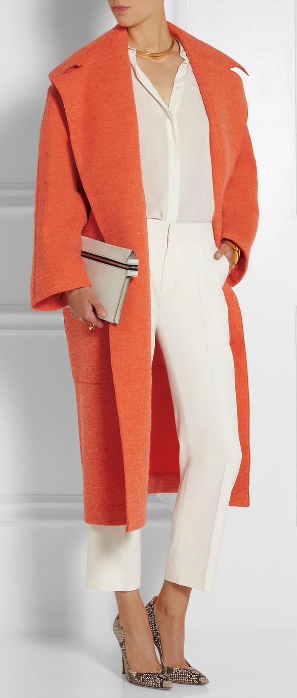 color orange roksanda