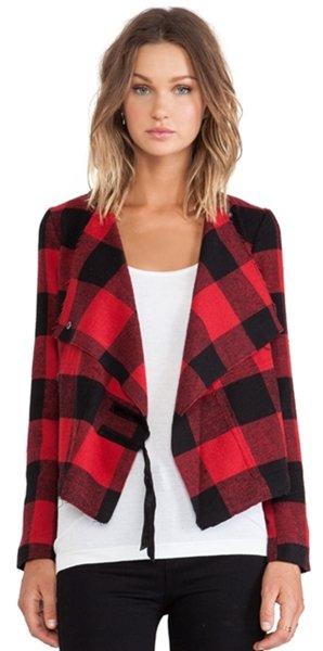 plaid bbdakota jacket