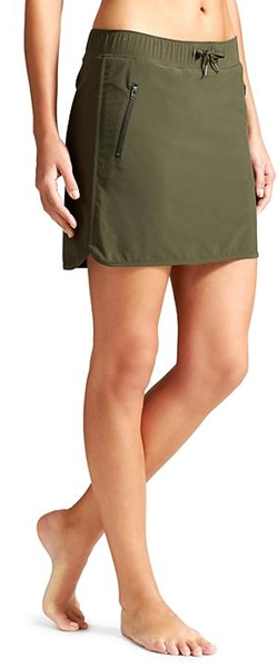 athleta strechin skort