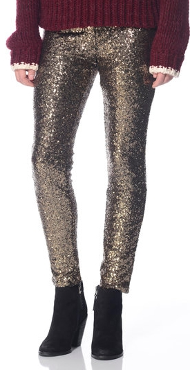 new years lucy sequin leggings