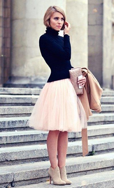 new years tulle skirt