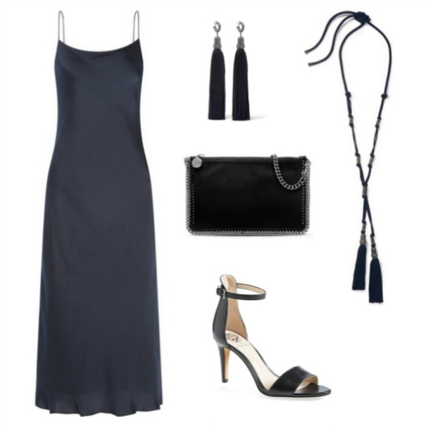 Navy & Black - Cocktail Party