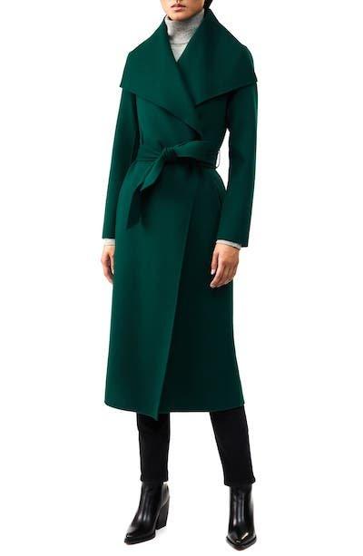 Real Life Style, Women's Coats - Mackage Mai-R Wool Wrap Coat