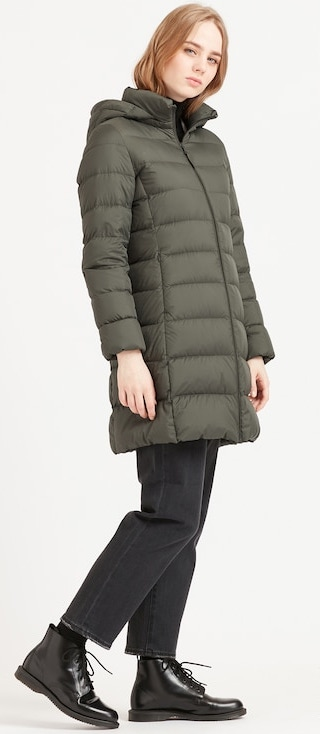 Real Life Style - Uniqlo - Women Ultra Light Down Hooded Coat