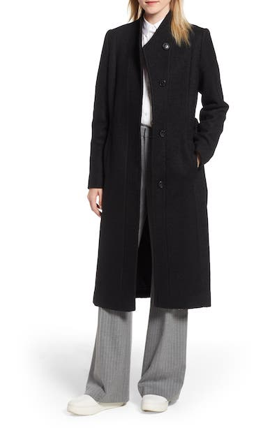 Real Life Style Women's Coats - Cole Haan Signature Woven Coat