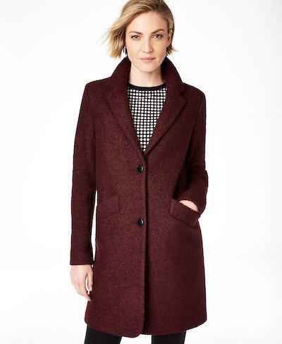 Real Life Style, Women's Coats - Mark New York Paige Boucle Coat