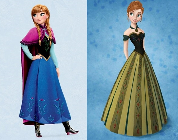 frozen anna outfit