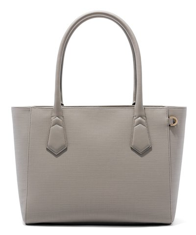 Real Life Style Work Tote Bag, Dagne Dover signature classic tote in grey