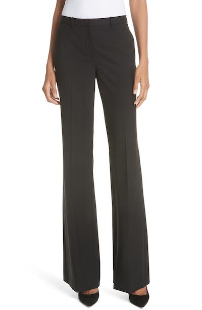 Theory demitria trousers, long inseam, best pants for work real life style