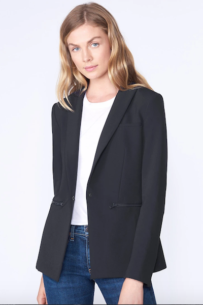 Real Life Style Must Have Comfortable Blazer for Work or Work From Home, Veronica Beard scuba blazer