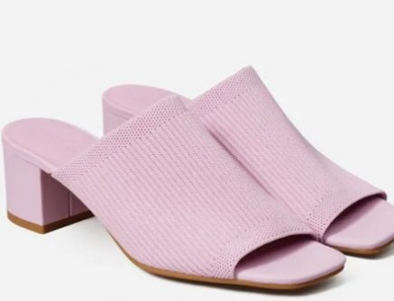 Everlane The Glove Knit Mule in Reknit