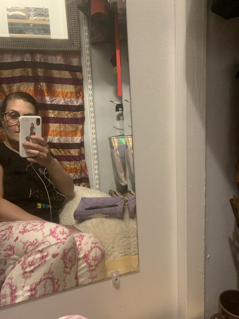 Lani in Closet