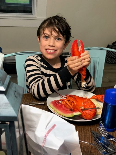 Max lobster Real Life Style