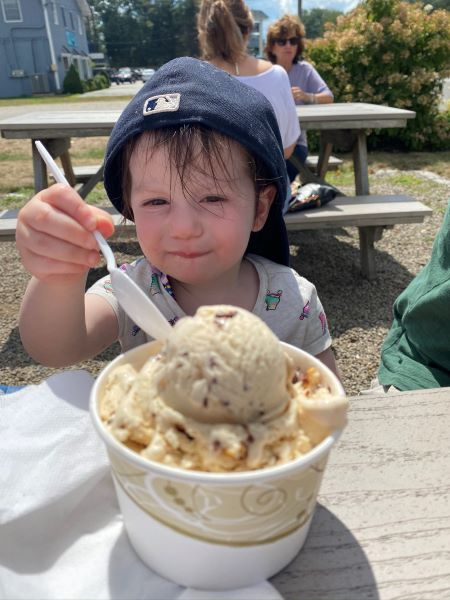 Big daddy's Ice cream Wells Maine Real Life Style