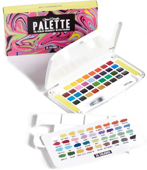 Stuart Semple Watercolor Palette Real Life Style