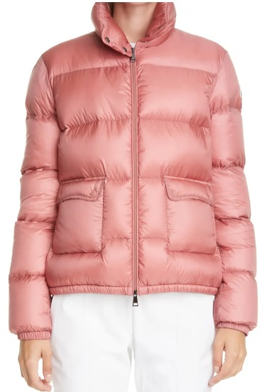 Moncler Lannic Water Resistant Lightweight Down Puffer Jacket Real Life Style