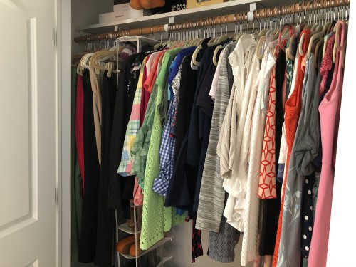 before cluttered closet real life style wear your power ecourse