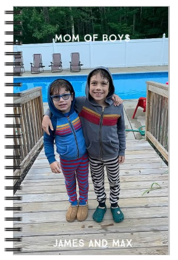 Shutterfly Personalized Journal Real LIfe Style