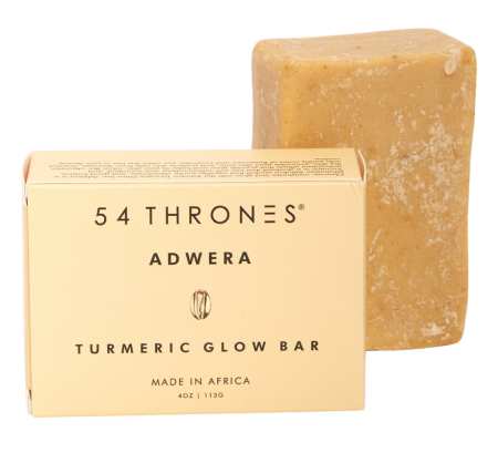 54 Thrones Adwera Turmeric Glow Soap Bar Real Life Style
