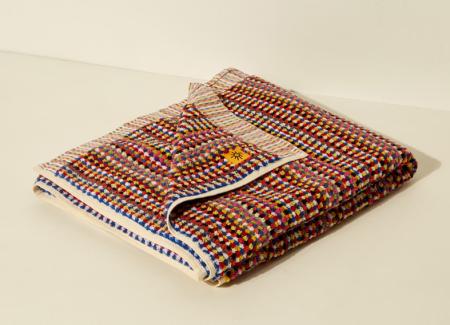 Goodee organic cotton hammam rainbow bath towel for real life style