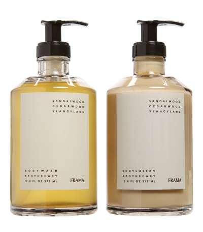 GOODEE x Frama Apothecary Body Wash and Lotion Set for Real Life Style