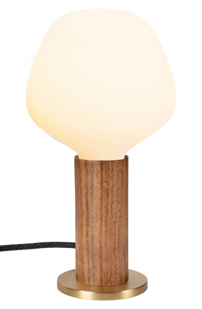 GOODEE x Tala Knuckle Walnut Table Lamp and Enno Light Bulb for Real Life Style