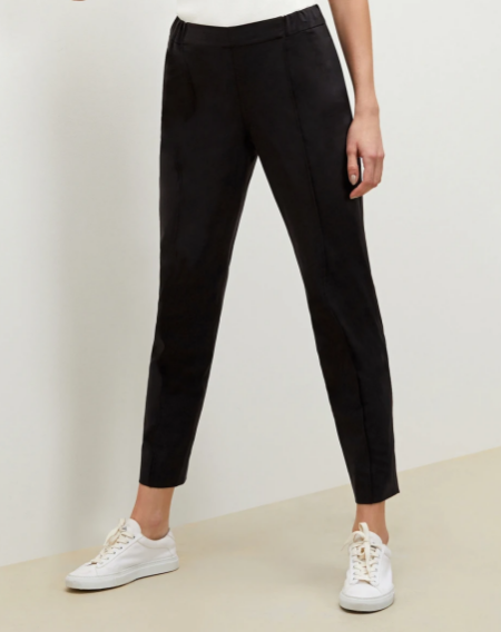 MM.LaFleur colby jogger in black real life style