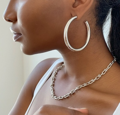 oma the label vicky chain in silver real life style