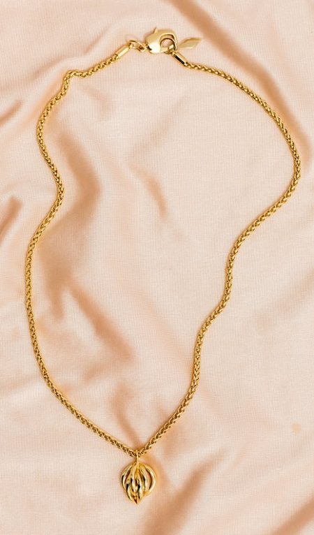 ora ana pauline necklace gold pendant real life style