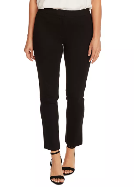 Vince Camuto ponte trousers, the perfect work pants for real life style