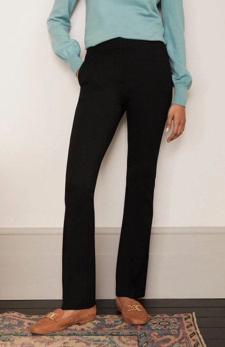Perfect work pants by Boden, comfortable Hampshire bootcut pants, Real Life Style