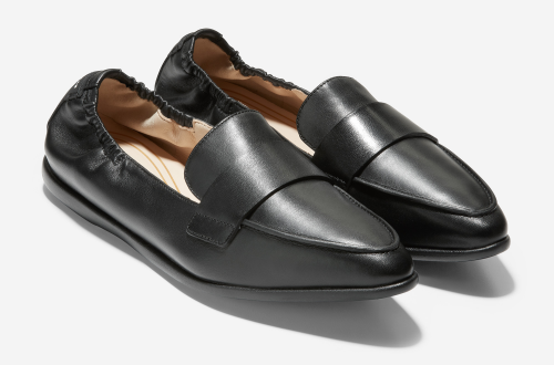Comfortable and Fashionable dress shoes for work for Real Life Style, Cole Haan Grand Ambition loafer flats