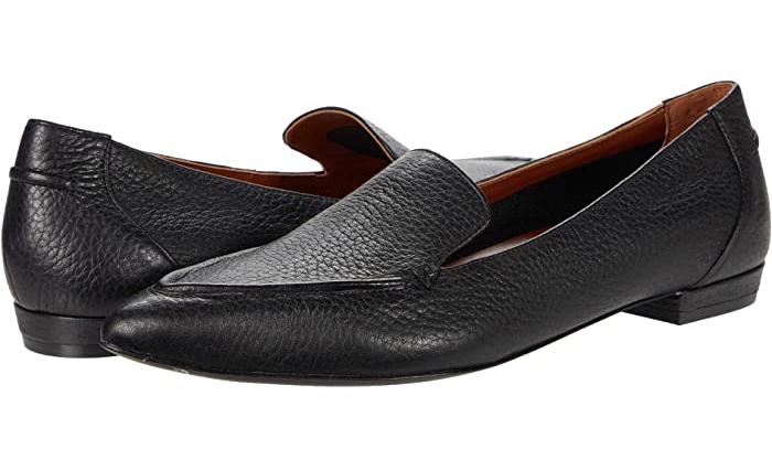Comfortable and Fashionable dress shoes for work for Real Life Style, vionic arch-support noah black leather loafers