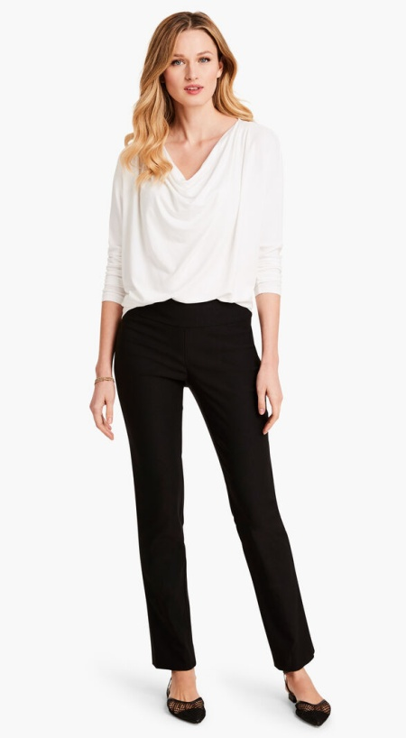 Nic and Zoe wonderstretch trouser, perfect work pants for Real Life Style
