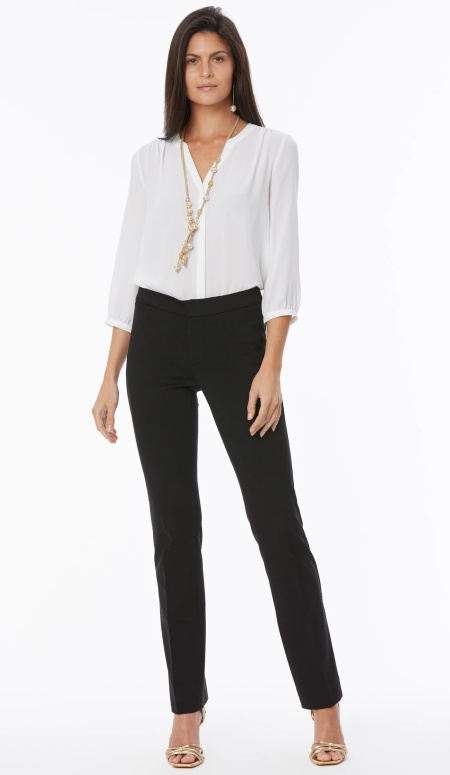 NYDJ Stretch Knit ponte trousers, perfect work pants for Real Life Style