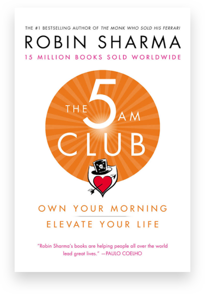 The 5 Am Club by Robin Sharma Real Life Style Summer book list